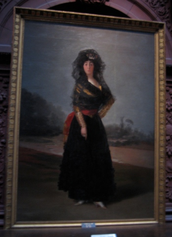"Goya's ""Dutchess of Alba?"