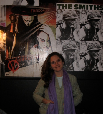 I am a huge Smith's fan, so I had to take a photo with their poster