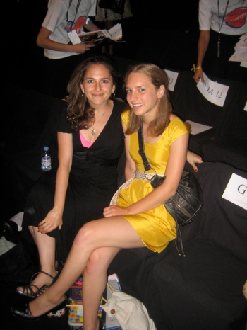 Front Row - Fall 2008