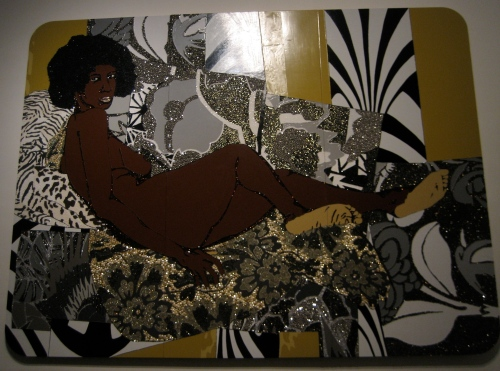 Mickalene Thomas, A Little Taste Outside of Love, 2007
