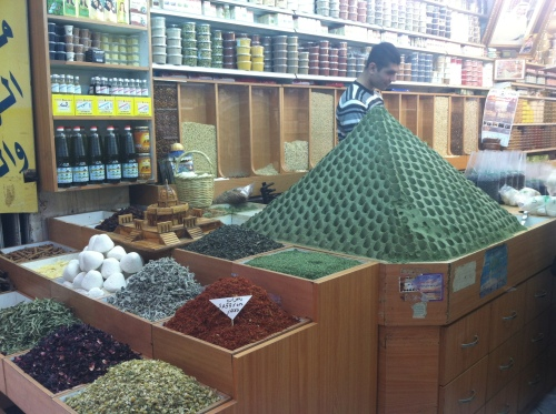 Spice shop in the Muslim Quarter
